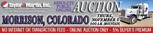 Auction Banner Morrison, CO