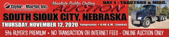 Auction Banner South Sioux City Test